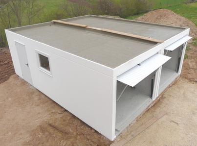 garage leipzig garagen und fertiggaragen aus beton in. Black Bedroom Furniture Sets. Home Design Ideas